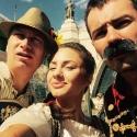 Посетители  баварского фестиваля Das Fest 2015