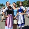 Баварочки на фестивале Das Fest 2015 на ВДНХ