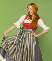 Баварский женский костюм № 4. У нас имеется 2 одинаковых костюма в этой расцветке!