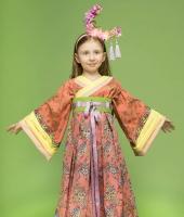 Китайский национальный костюм для девочки в прокат