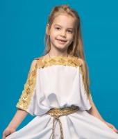 Костюм греческой богини для девочки в аренду