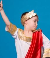 Греческий костюм для мальчика в прокат