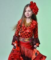 Цыганский костюм для девочки в прокат