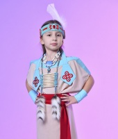 Индейский костюм для девочки
