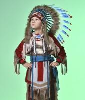 Индейский костюм для мальчика