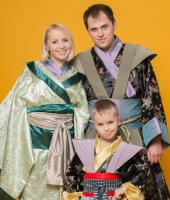 Японские кимоно для всей семьи в аренду