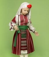 Молдавский национальный костюм для девочки в аренду