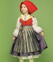 Костюм Красной шапочки для девочки в аренду