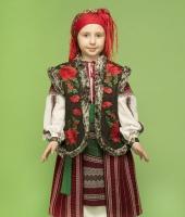 Румынский национальный костюм для девочки в прокат