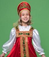 Русский народный костюм для девочки в прокат