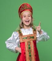 Русский национальный костюм для девочки в аренду