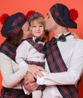 Шотландские костюмы для всей семьи в аренду