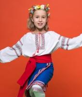 Украинский народный костюм для девочки в аренду