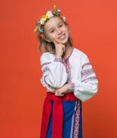 Украинский народный костюм для девочки в прокат