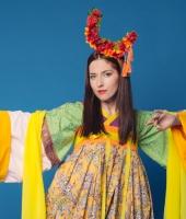 Женский китайский костюм жуцюнь № 5