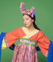 Женский китайский костюм жуцюнь № 2