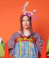 Женский китайский костюм жуцюнь № 3