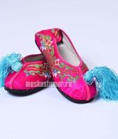 Туфли китайские женские розовые, размер 37 – №1