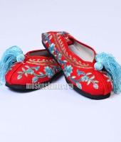 Туфли китайские женские красные – №3