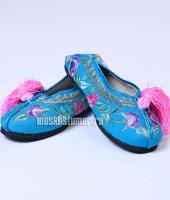 Туфли китайские женские синие, размер 39 – №4