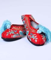 Туфли китайские женские красные, размер 38 – №5