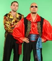 Цыганские мужские национальные костюмы № 1 и № 2 (в наличии 2 красных)