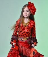 Цыганский костюм для девочки в прокат. Таких костюмов у нас 2.