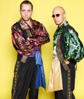 Цыганские мужские национальные костюмы № 3 и № 4