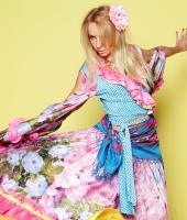 Цыганский женский национальный костюм № 2