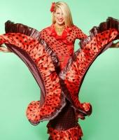 Цыганский женский национальный костюм № 1 (в наличии 4)
