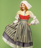 Traditional Female French Costume for rent