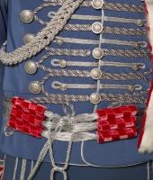 Hussar uniform for rent.