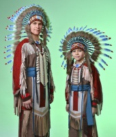 Indian Native American costumes for rent