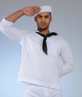 White US Navy Sailor costume rentals