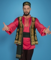 Tatar costumes for rent.