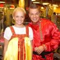 Масленица в русских народных костюмах в фитнес клубе Зебра