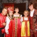 Сотрудники клуба Зебра в русских народных костюмах в прокат