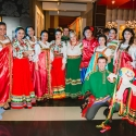 Масленица в русских народных костюмах в фитнес-клубе Зебра