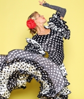 Женское платье фламенко