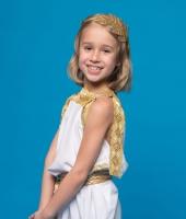Костюм греческой богини для девочки