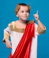 Костюм греческого бога для мальчика
