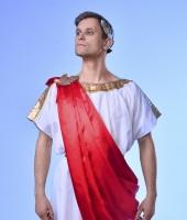 Греческий (римский) мужской костюм. Короткая тога.