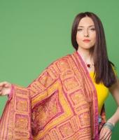 Женский индийский костюм сари № 3