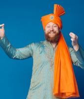 Мужской индийский костюм № 2