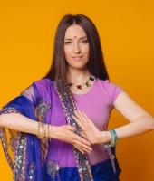 Женский индийский костюм сари № 2