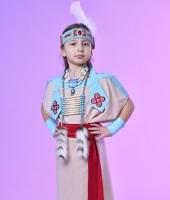 Индейский костюм для девочки в прокат. Вариант без пончо.