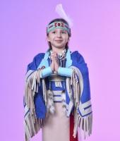Индейский костюм для девочки в прокат
