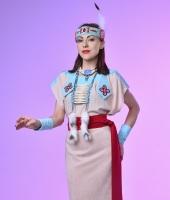 Женский индейский костюм в прокат. Вариант без пончо.