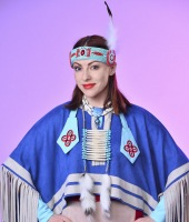 Женский индейский костюм в прокат