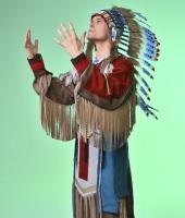 Мужской индейский костюм в прокат